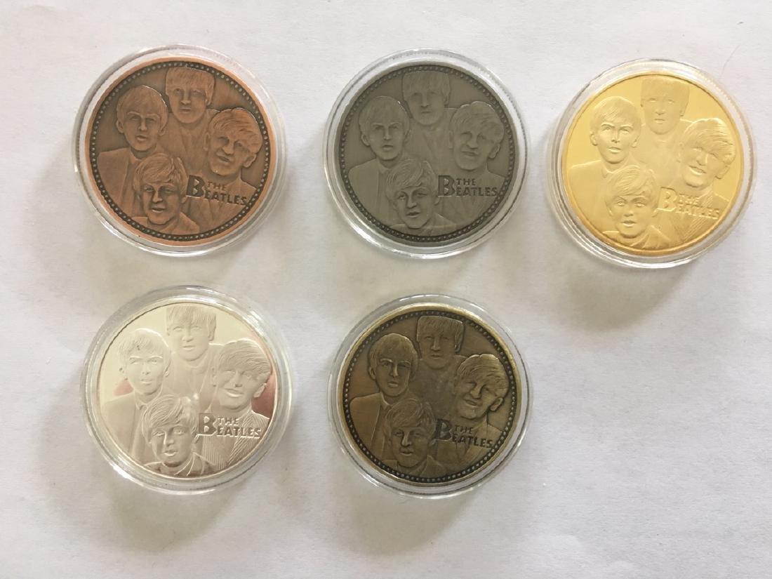 BEATLES COLLECTOR COINS