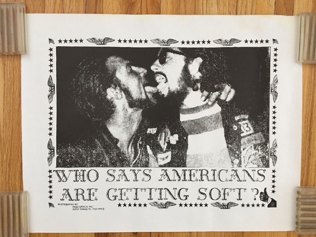 Who says Americans are getting soft - hippie 1960s