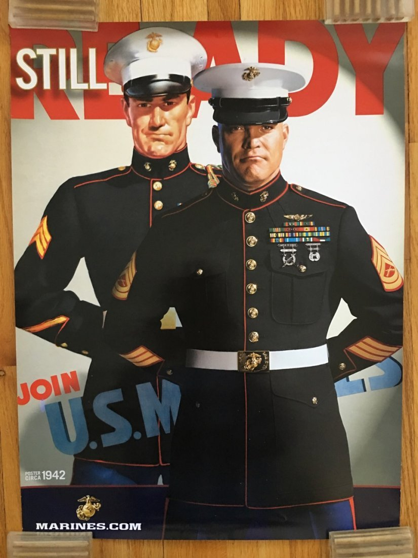US MARINES POSTER