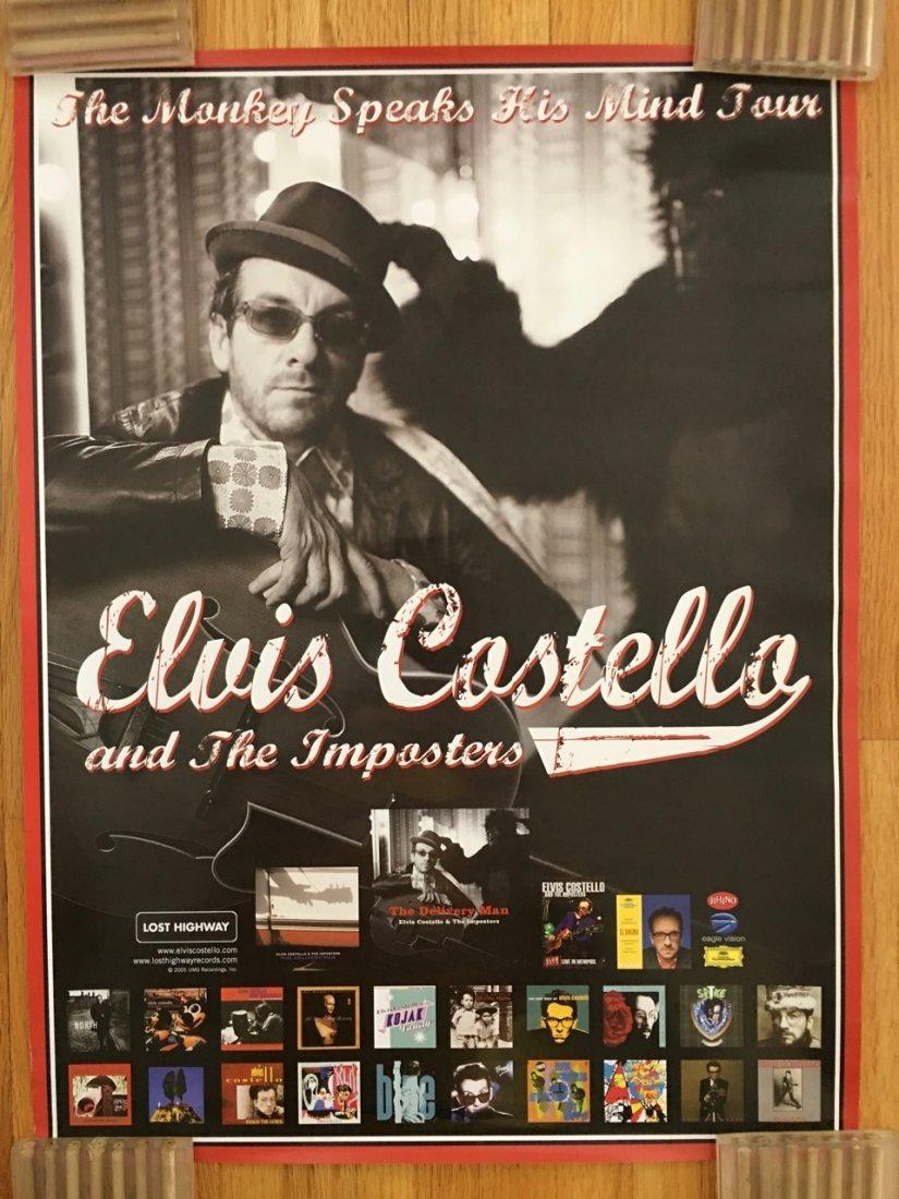 ELVIS COSTELLO - THE MONEKEY SPEAKS HIS MIND