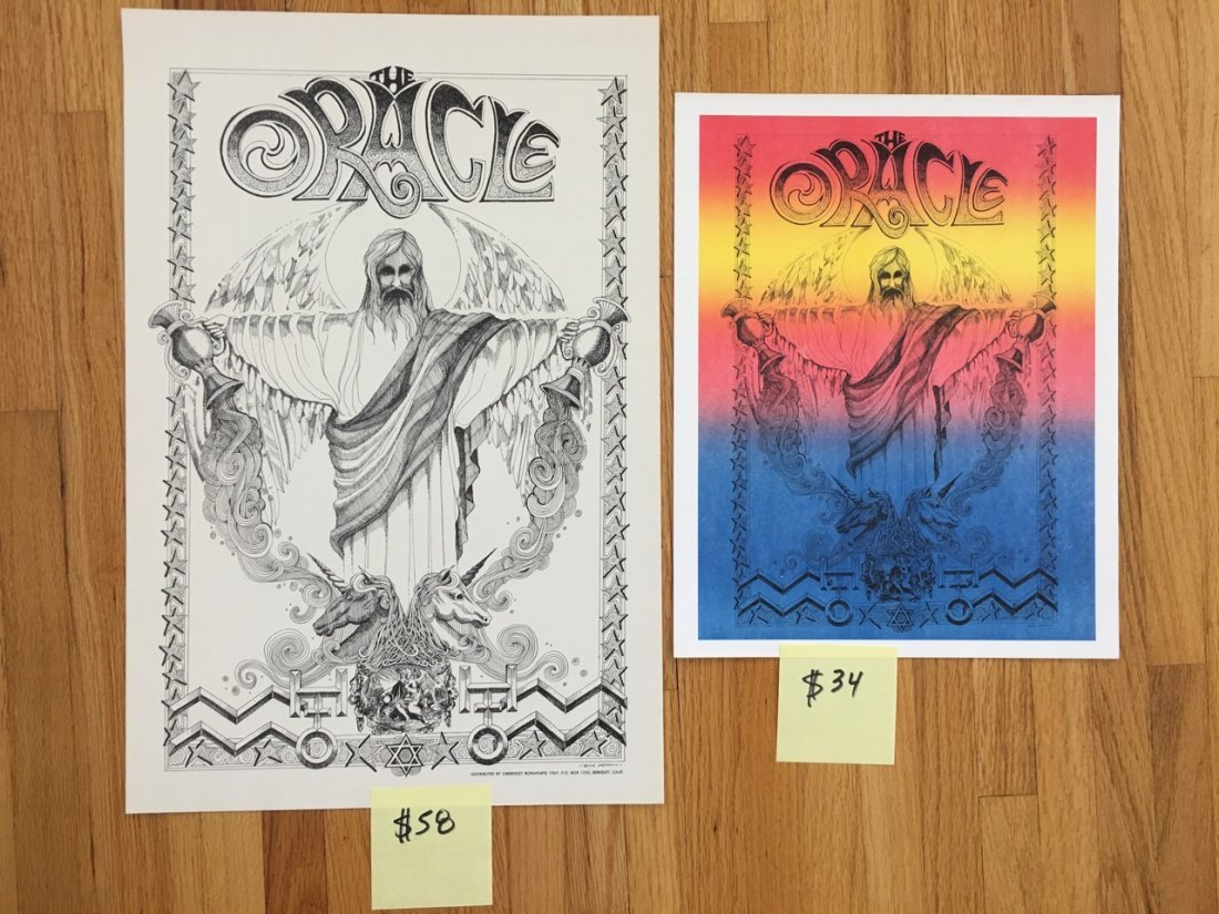 THE ORACLE SET - BY RICK GRIFFIN