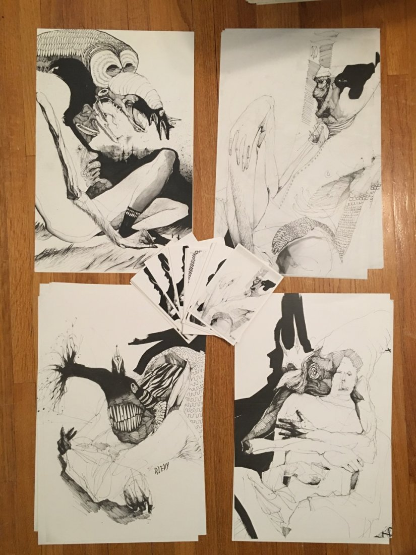 Housepet is Jack Ventimiglia rare prints and postcards