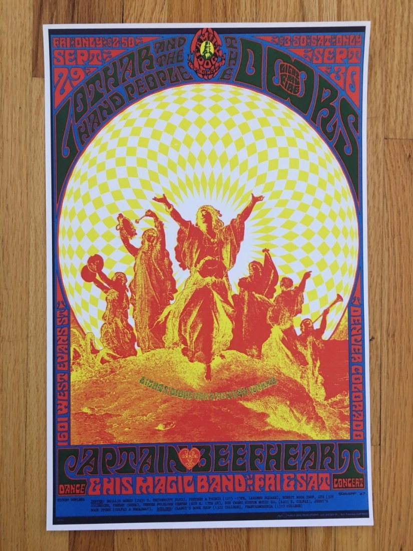 The Doors Poster - LOTHAR - REPRODUCTION - FD084