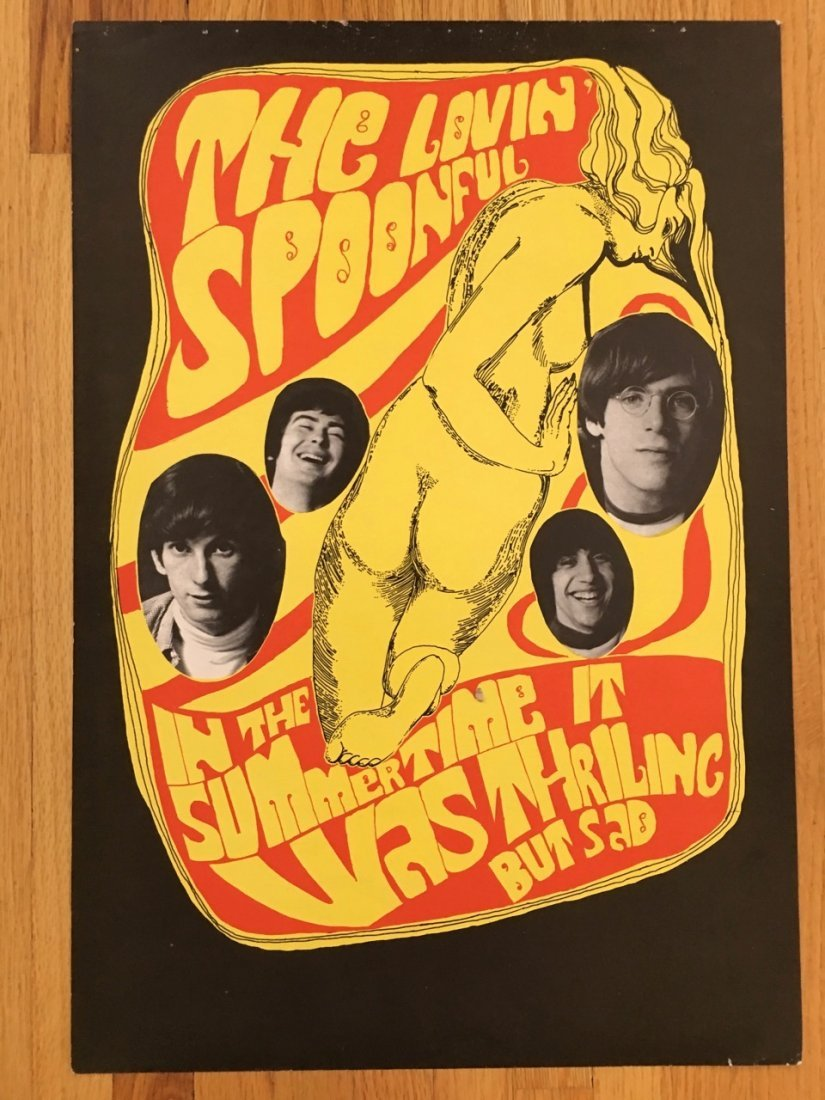 THE LOVIN' SPOONFUL POSTER BY KONST