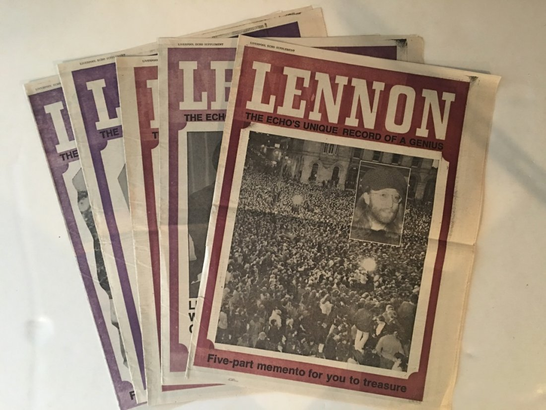 LIVERPOOL ECHO 5 PART SERIES ON JOHN LENNON