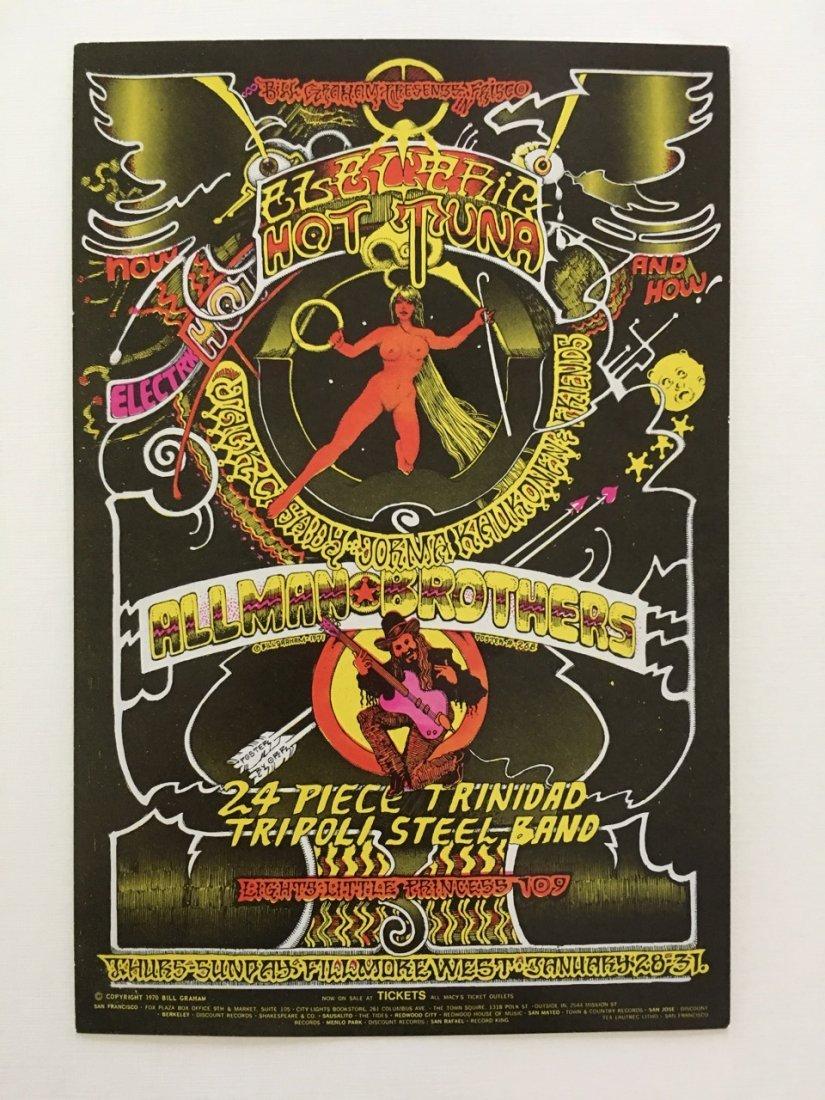 The Allman Brothers Band HANDBILL - BG268 - 1st - RARE