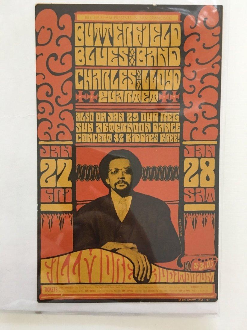 The Paul Butterfield Blues Band Postcard - BG047 - 1st