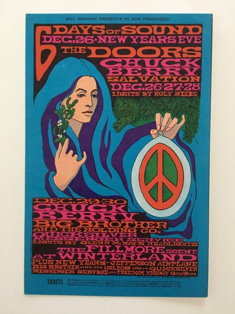 The Doors Postcard - BG099 - 1st