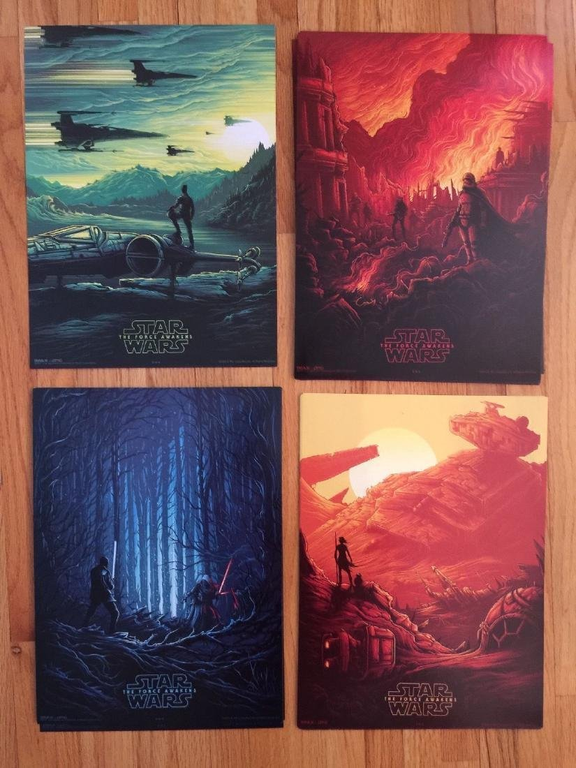 STAR WARS The Force Awakens 2015 AMC IMAX Poster Night