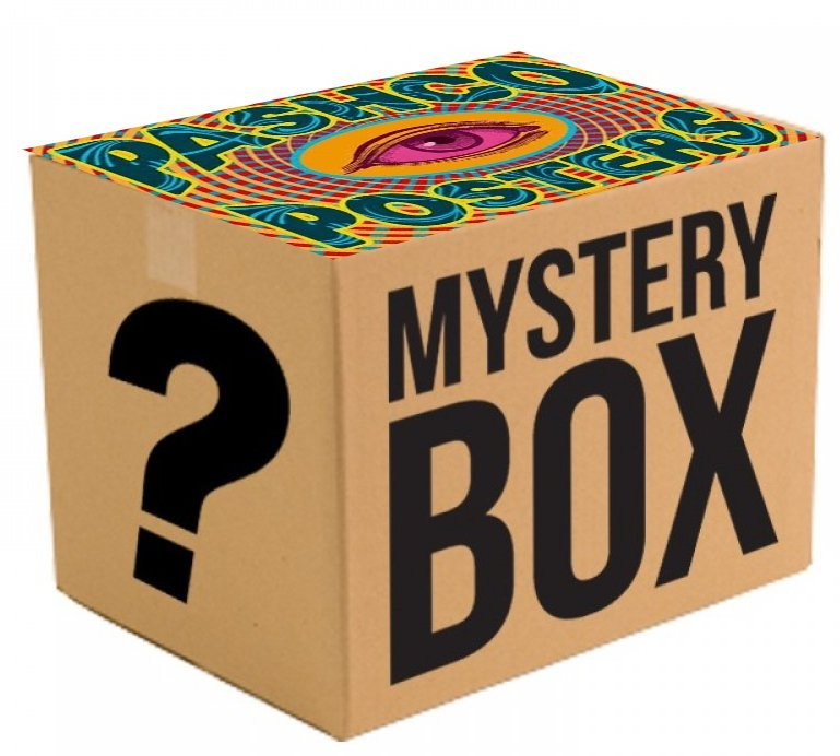 MYSTERY BOX - 20 MYSTERY POSTERS ! ! !  - BOX #1