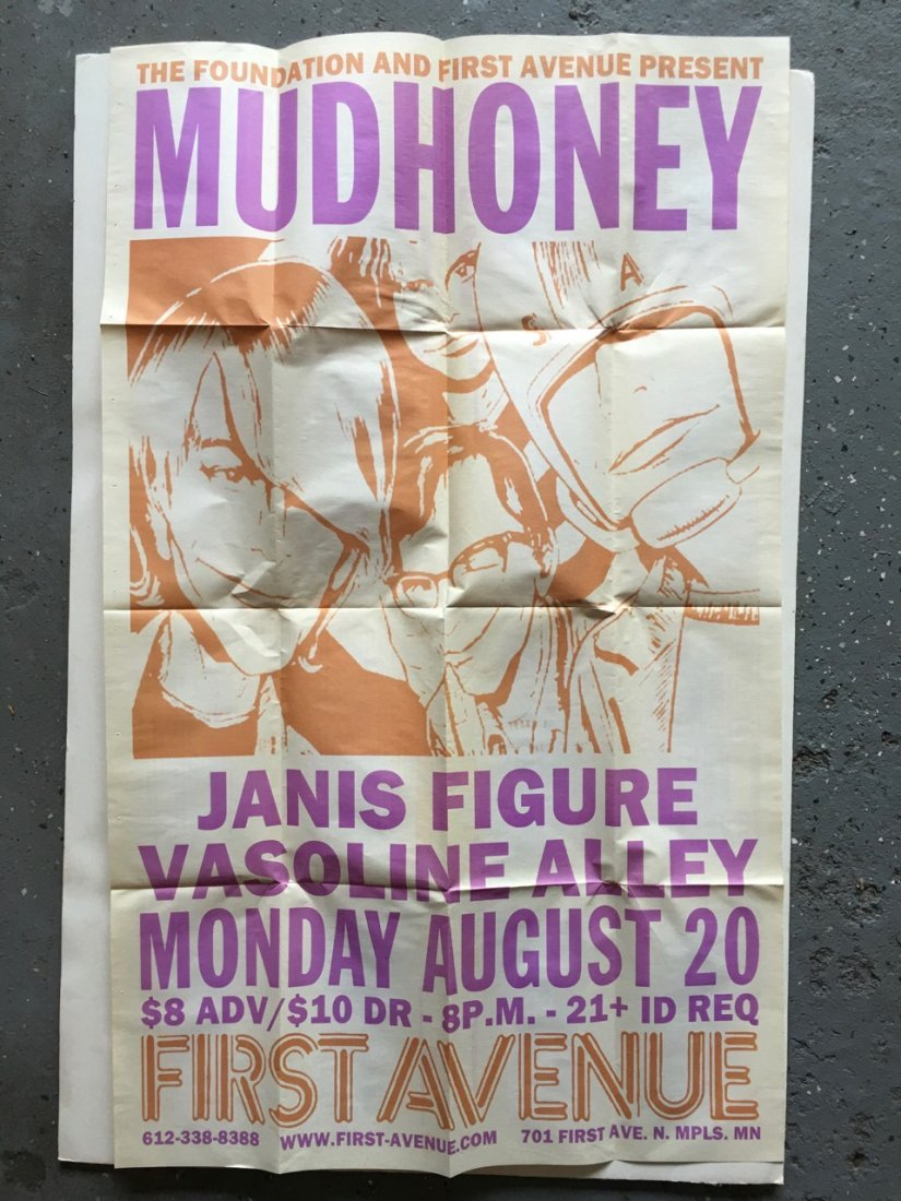 MUDHONEY at FIRST AVE in MINNEAPOLIS