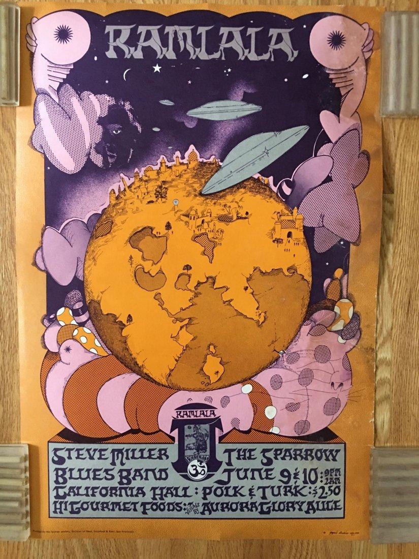Ramlala Concert Poster - STEVE MILLER