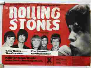 RARELY AVAILABLE ROLLING STONES 1967 in COLOGNE GERMANY
