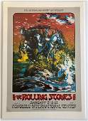RARE DOUBLE SIGNED ROLLING STONES IN HAWAII