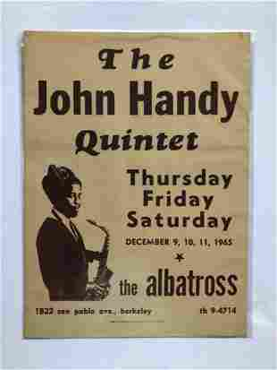 FEATURED ITEM - JOHN HANDY QUINTET
