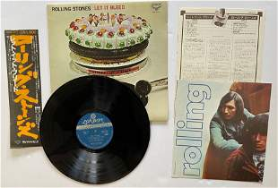 The Rolling Stones - Let It Bleed - JAPAN