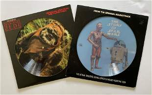 STAR WARS PICTURE DISC SET