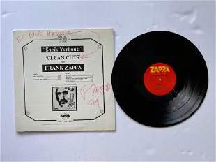 SIGNED - Frank Zappa - Sheik Yerbouti 'Clean Cuts'