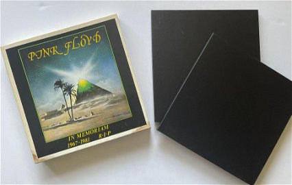 1 OF 500 IN THE WORLD - Pink Floyd - In Memoriam