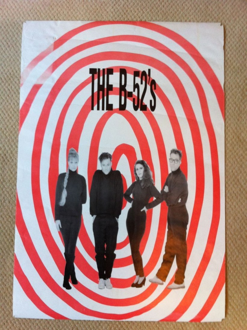 102: B-52's Poster