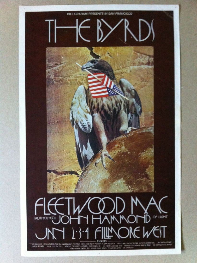 109: Byrds - Fleetwood Mac Poster