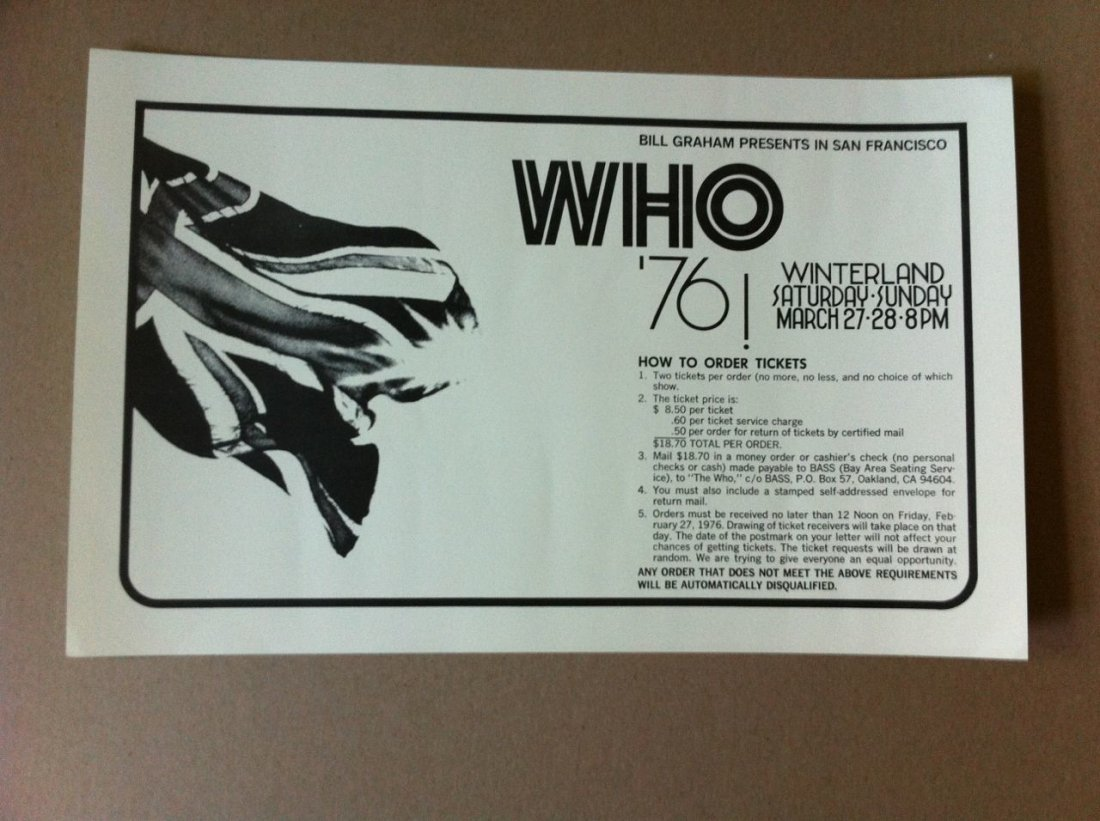 115: The Who - 1976 - Winterland