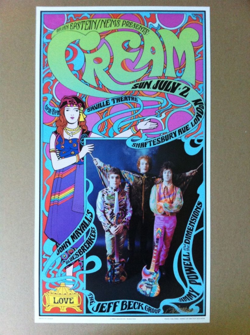120: Cream - Karl Ferris and Bob Masse collaboration