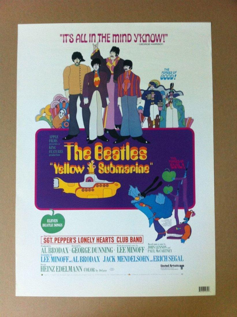 232: Beatles Yellow Submarine Movie Poster