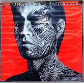 329 ROLLING STONES LARGE TATTOO YOU POSTER