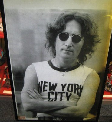 201: John Lennon NYC Poster
