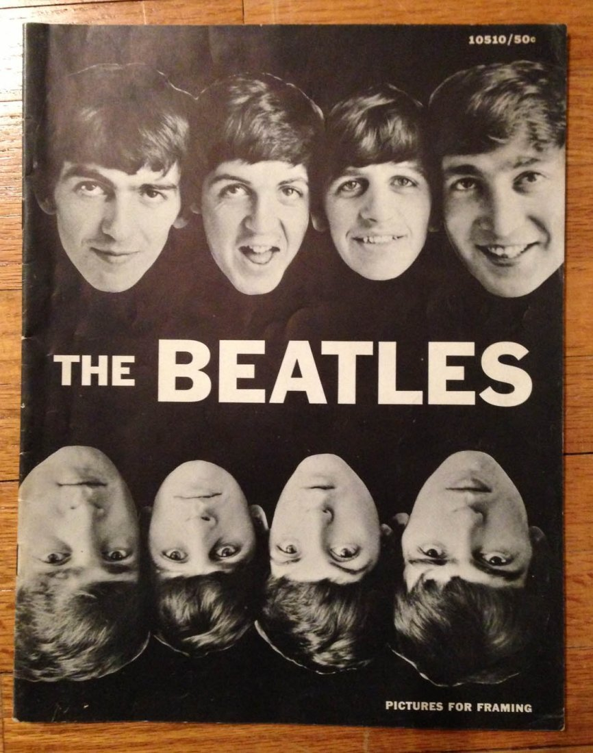 209: 1964 THE BEATLES (for framing)