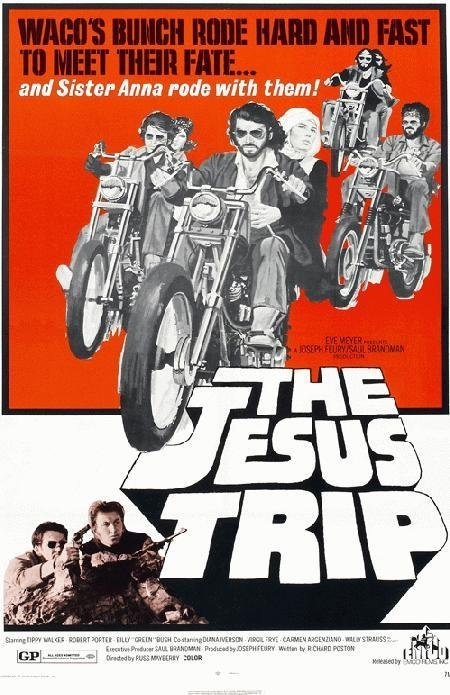 212: THE JESUS TRIP MOVIE POSTER and other lot