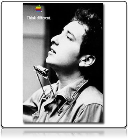 213: Dylan Apple Think Different Poster