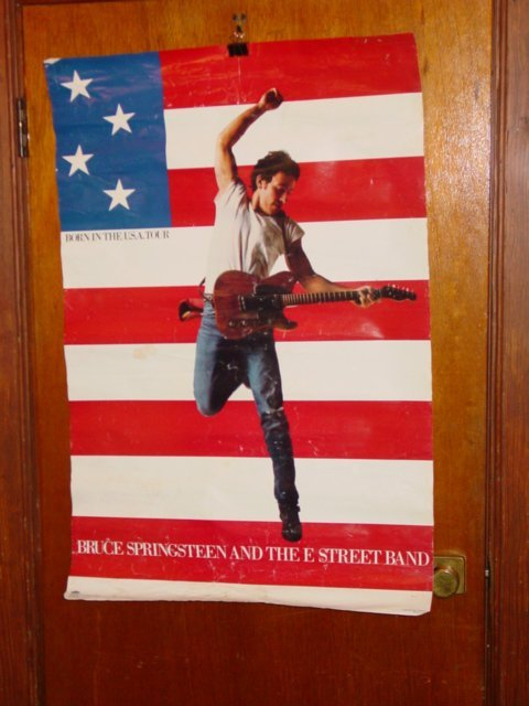 218: Vintage 1985 Bruce Springsteen Born In The USA
