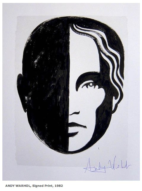 227: ANDY WARHOL, Signed Print, 1982