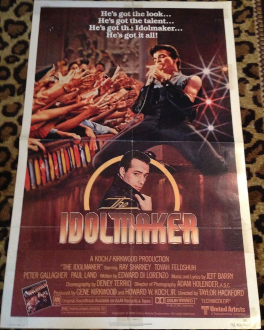 LOT OF 10 MUSIC-THEMED MOVIE POSTERS