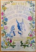 FAMILY DOG POSTER  IRON BUTTERFLY  1968