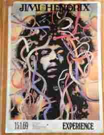 HENDRIX MEDUSA POSTER - Wire Head Poster