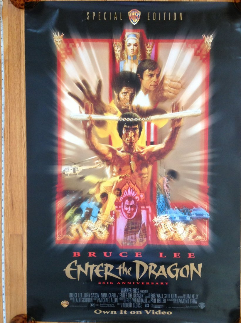 BRUCE LEE - ENTER THE DRAGON - MOVIE POSTER
