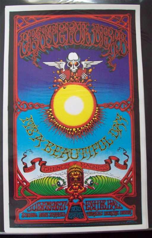 Grateful Dead Hawaiian Aoxomoxoa 1969 2nd