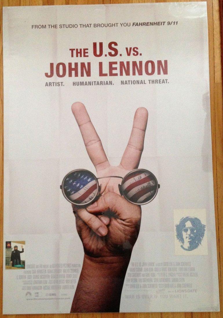 The U.S. vs John Lennon Movie Poster