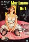 Novel Poster Of Marijuana Girl Huge