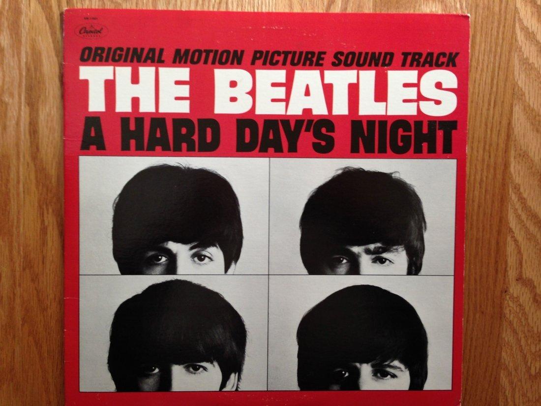 THE BEATLES HARD DAYS NIGHT