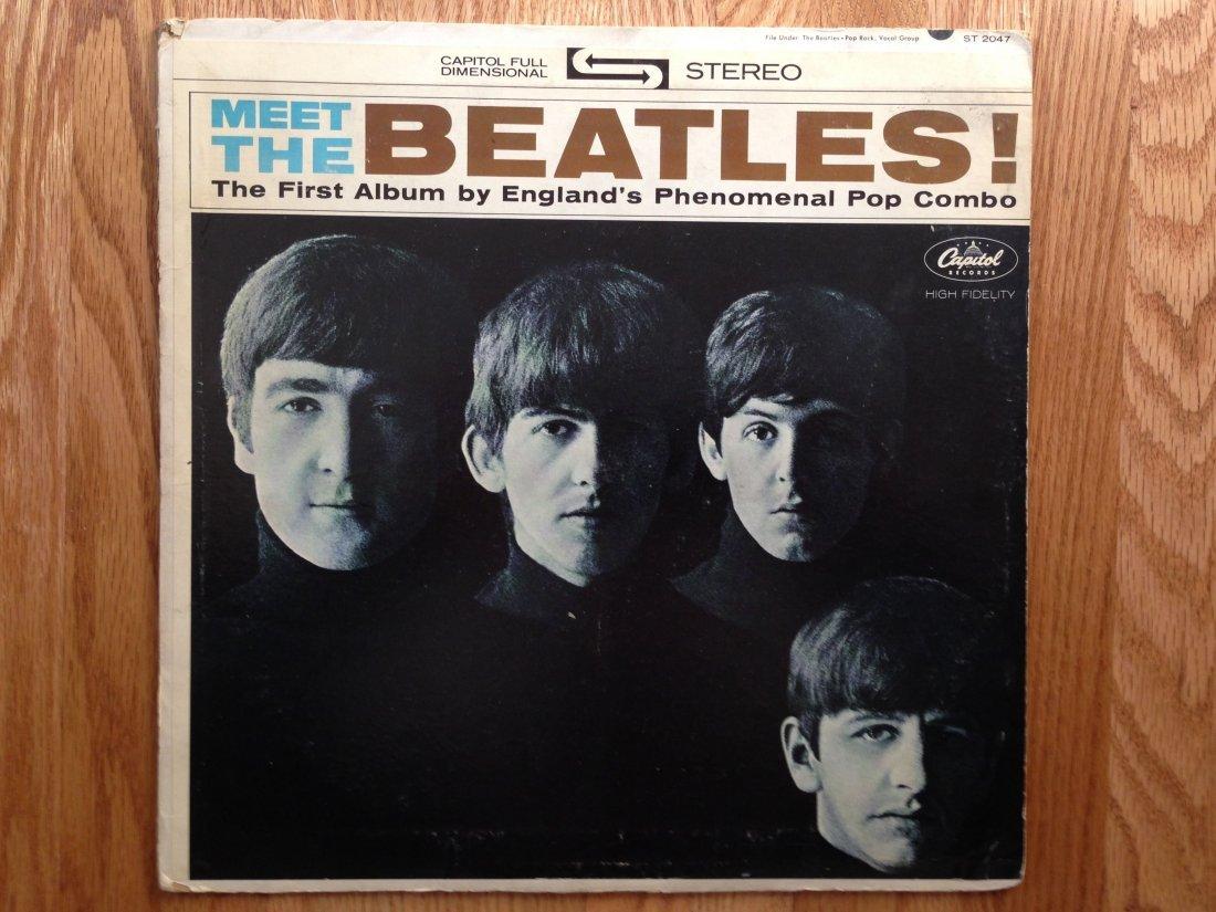 MEET THE BEATLES ALBUM ST 2047