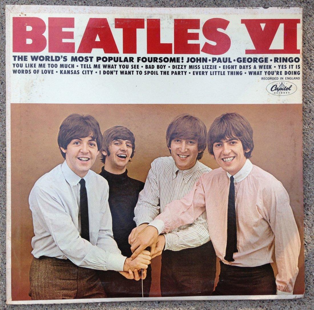 BEATLES VI Album - rare version