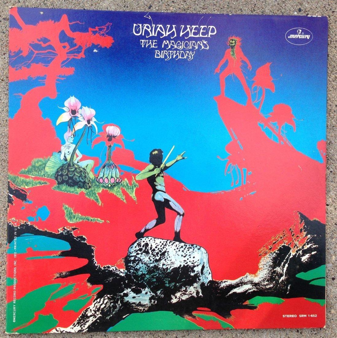 URIAH HEEP - MAGICIAN'S BIRTHDAY ALBUM