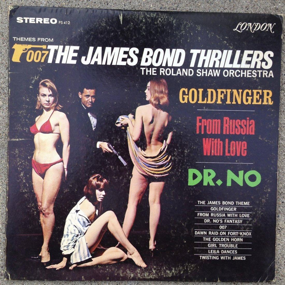 007 THE JAMES BOND THRILLERS - ROLAND SHAW