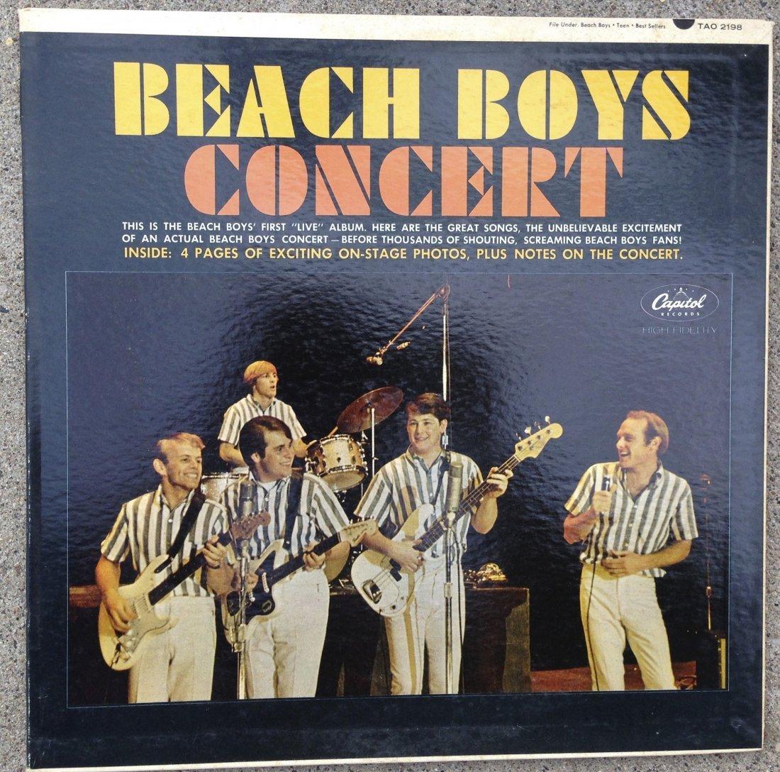 BEACH BOYS FIRST CONCERT ALBUM !