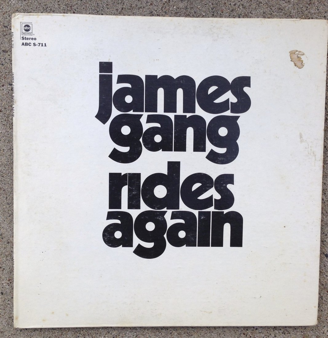 JAMES GANG RIDES AGAIN ALBUM !