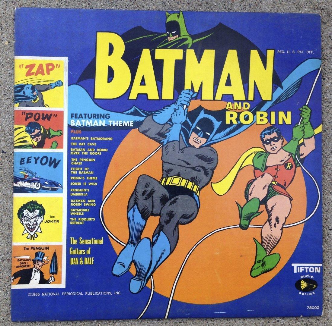 BATMAN AND ROBIN ! Tifton Audio Album !